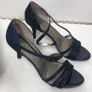Sparkling Sapphire Heels